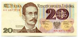 Banknot 20 zł