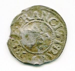 Podwójny szeląg 1620 r.